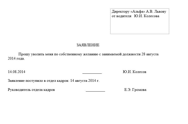 Увольнение сотрудника в период испытательного срока