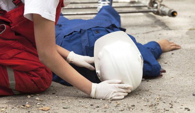 Несчастный случай на производстве - действия работодателя