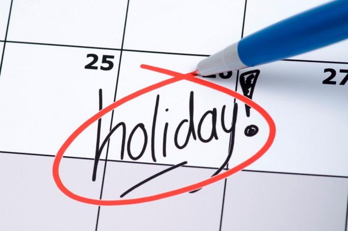 Как считается дни отпуска по закону